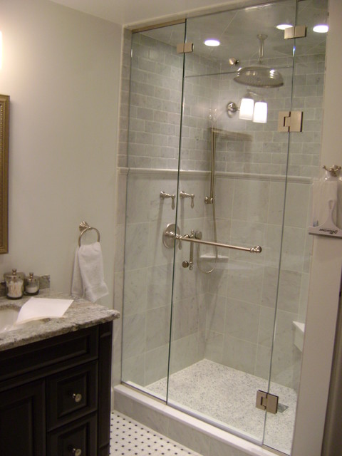 inline shower california enclosures door angeles frameless los