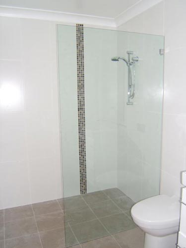 Self Cleaning Shower Glass